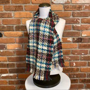 Fraas Multicolor Fringe Scarf Made In Germany